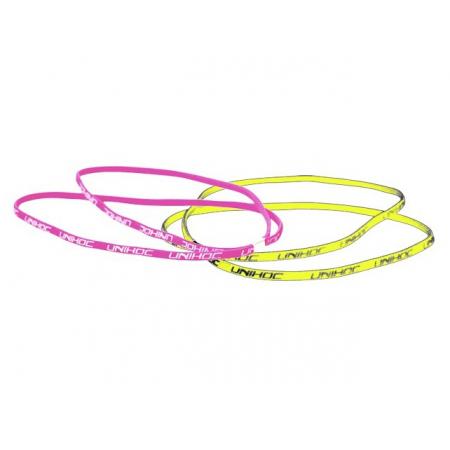 Unihoc čelenka Totti yellow/pink