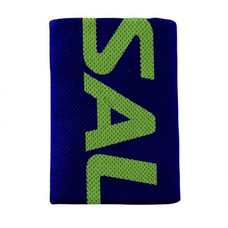 SALMING Wristband Mid Navy/Gecko Green