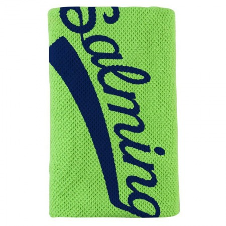 SALMING Potítko Wristband Long Gecko Green/Navy