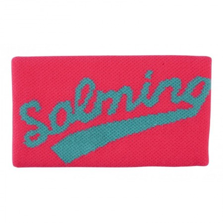 SALMING Potítko Wristband Long Diva Pink/Turquoise