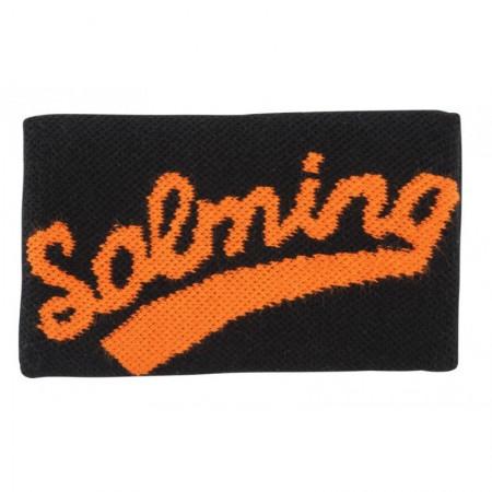 SALMING Potítko Wristband Long Black/Magma Red