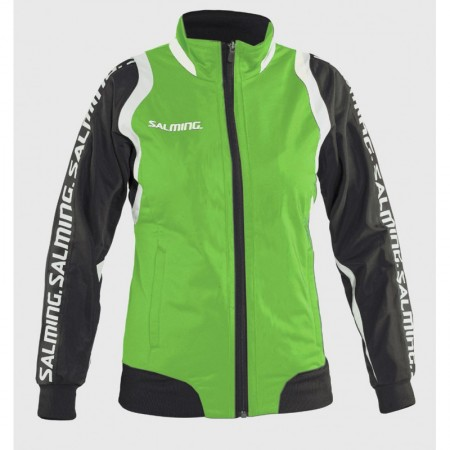 Salming bunda Taurus Wct Pres Jacket Women Zelená