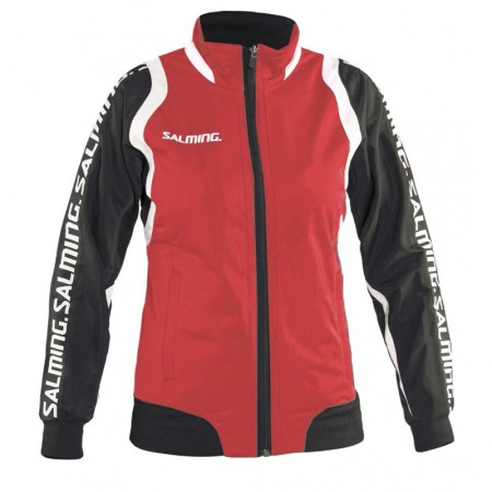 Salming bunda Taurus Wct Pres Jacket Women Červená