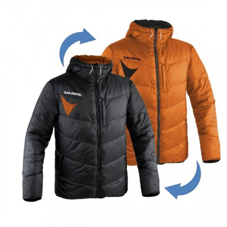 Salming bunda Reversible Jacket Black/Orange
