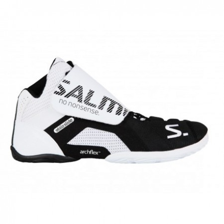 SALMING Slide 5 Goalie Shoe White/Black Brankárska obuv