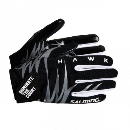 SALMING Hawk Goalie Gloves Black/Grey Brankárske rukavice