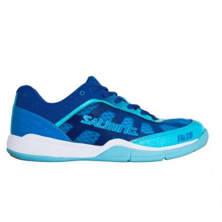 SALMING Falco Women Limoges Blue/Blue Atol halová obuv