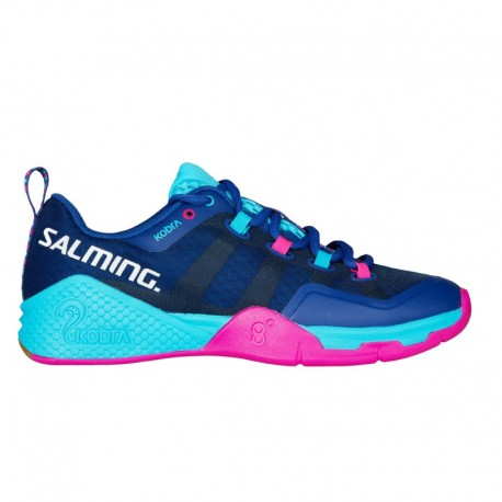 acfceea44d26f SALMING Kobra 2 Women Limoges Blue/Pink Jewel halové tenisky