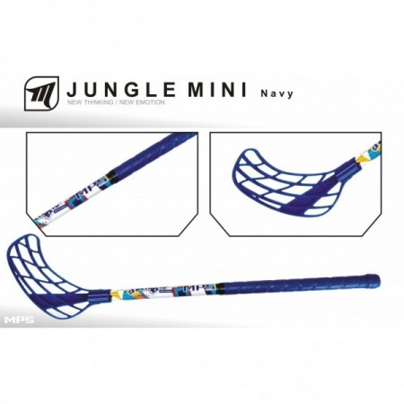 MPS JUNGLE MINI– Navy florbalová hokejka