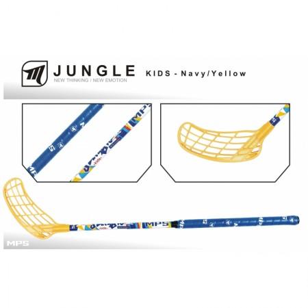 MPS JUNGLE KIDS– Navy florbalová hokejka