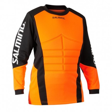 SALMING Atlas Jersey JR Orange/Black brankársky dres