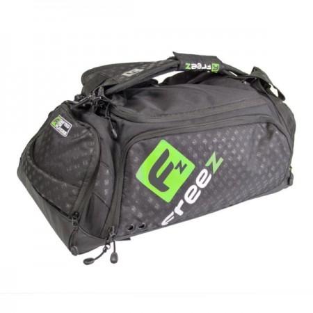 FREEZ Z-180 Florbalová taška BLACK/GREEN