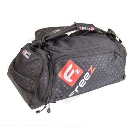FREEZ Z-180 Florbalová taška BLACK/RED
