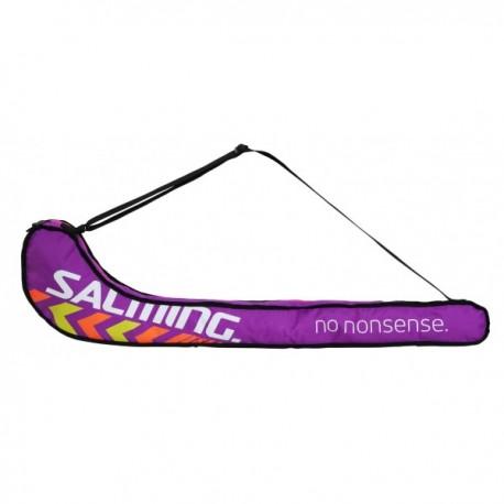 Salming Tour Stickbag Junior Purple/Pink SR