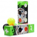 Salming Aero Plus Ball Colour Mix 4-pack