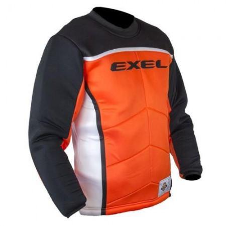 EXEL S60 brankársky dres orange/black SR