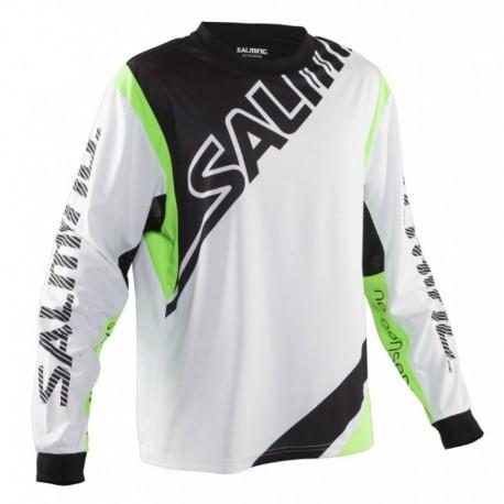 Salming Phoenix White/Green SR brankársky dres